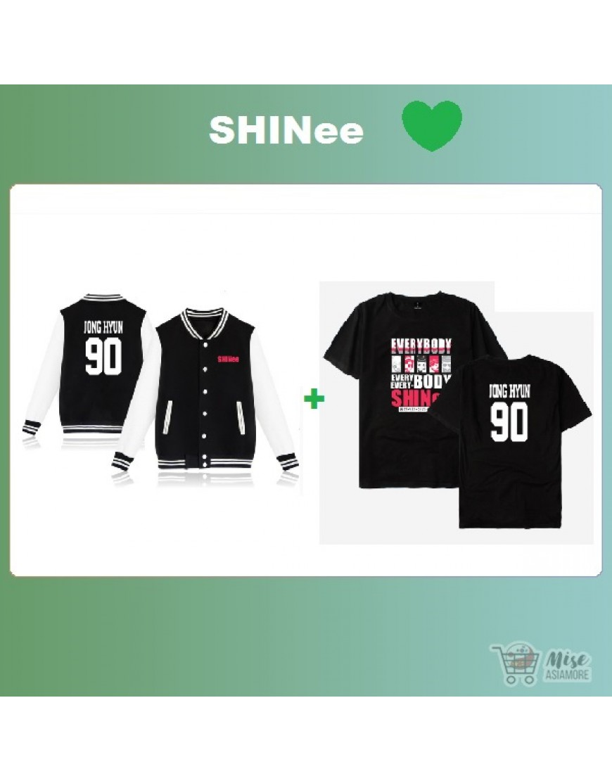 Kit Shinee ( jaqueta+Camiseta) popup