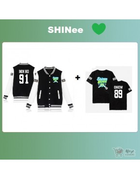Kit Shinee ( jaqueta+Camiseta)