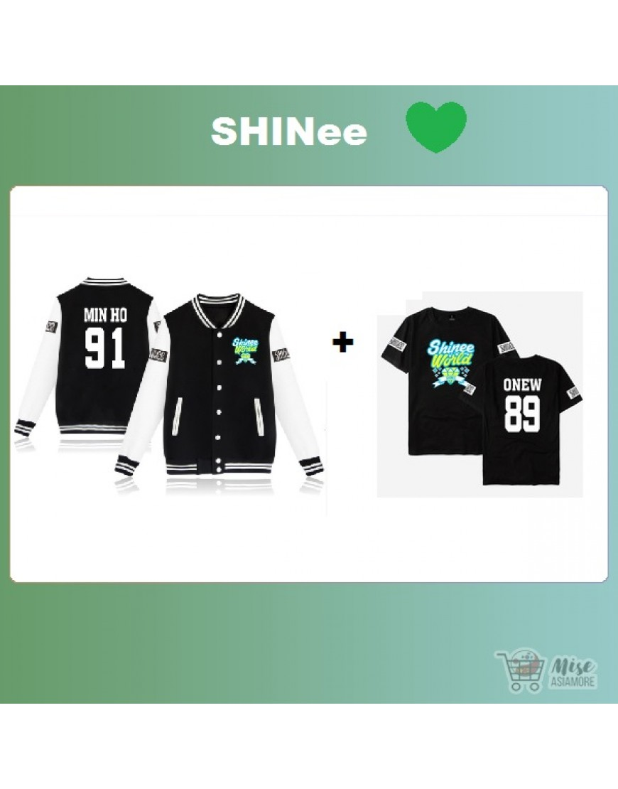 Kit Shinee ( jaqueta+Camiseta) popup