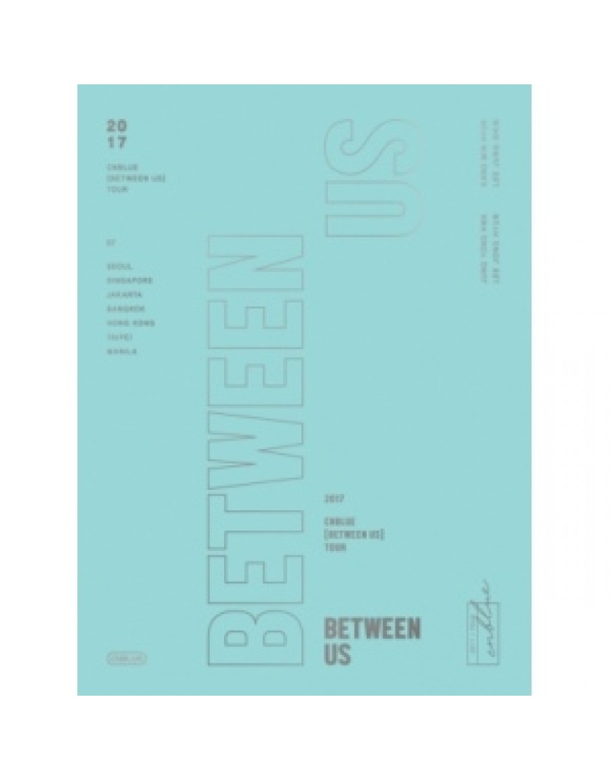 CNBLUE - 2017 CNBLUE [BETWEEN US] TOUR DVD popup