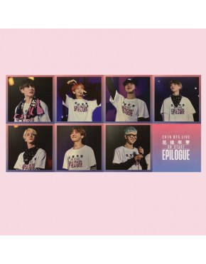 BTS Photo Cards - Epilogue