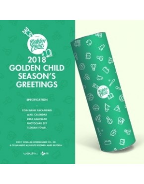 Golden Child - 2018 SEASON GREETING