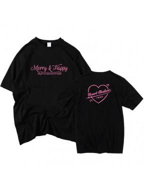 Camiseta Twice Merry and Happy
