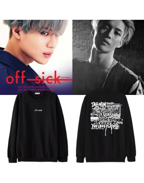 Blusa Shinee Taemin Off Sick