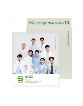 EXO-  NATURE REPUBLIC EDITION - REAL NATURE HYDROGEL MASK SET