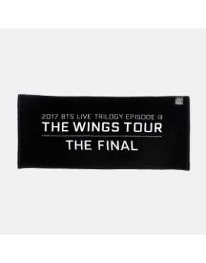 BTS 2017 THE WINGS TOUR THE FINAL GOODS - TOWEL