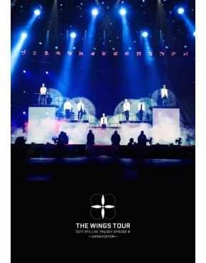BTS- 2017 BTS LIVE TRILOGY EPISODE III THE WINGS TOUR - JAPAN EDITION - [Regular Edition Blue Ray]