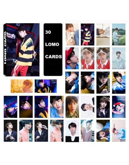 BTS JIN LOMO CARDS