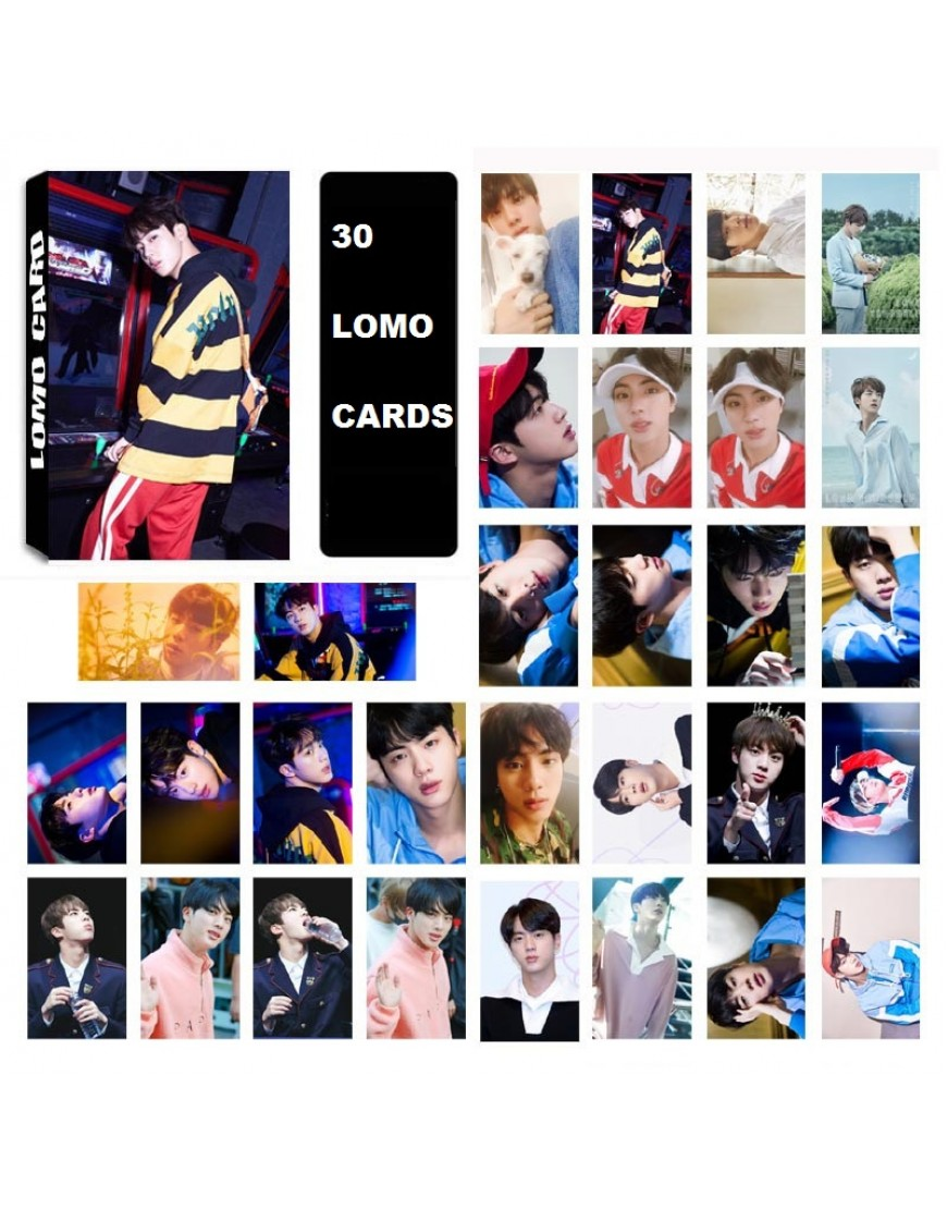 BTS JIN LOMO CARDS popup