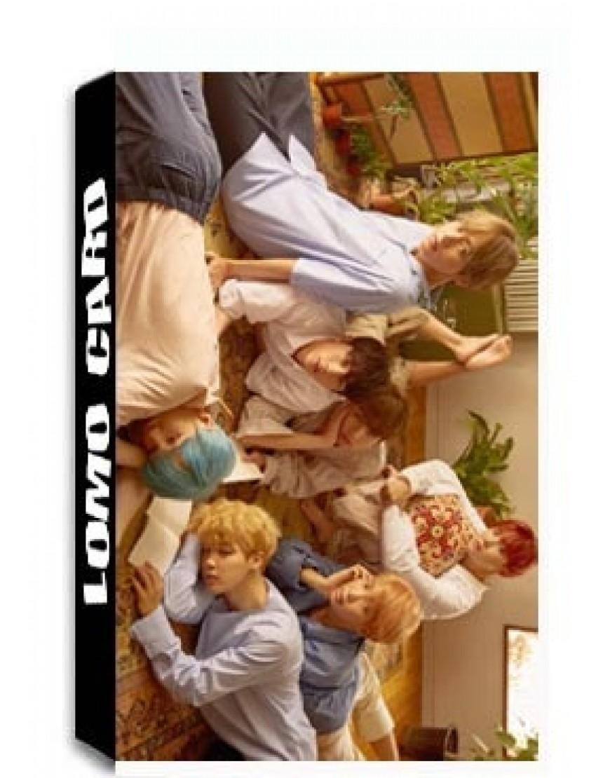 BTS LOMO CARDS popup