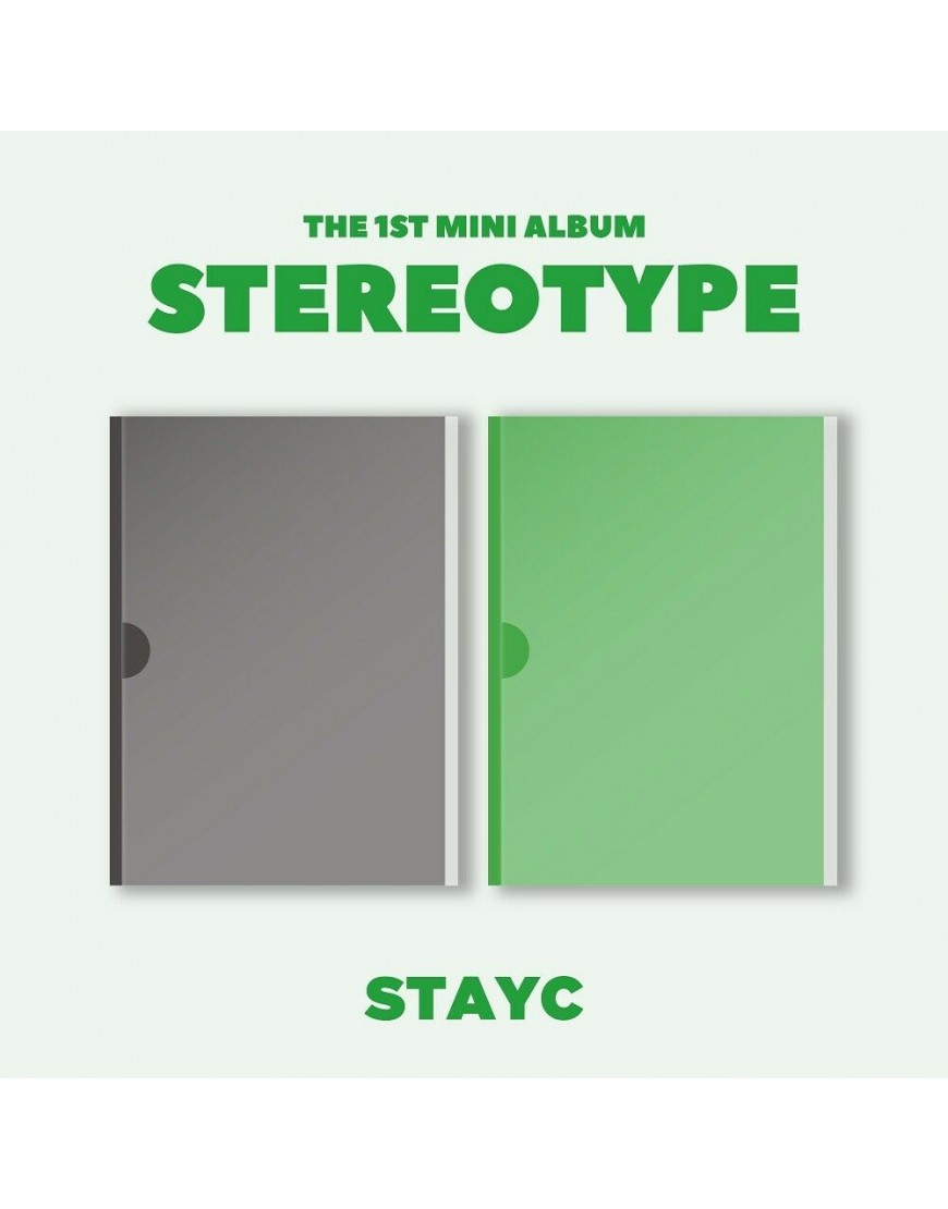 STAYC - STEREOTYPE CD popup