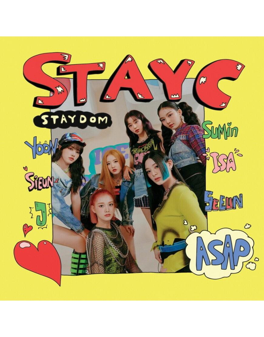 STAYC - STAYDOM CD popup