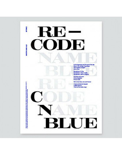 CNBLUE - RE-CODE (Special version)