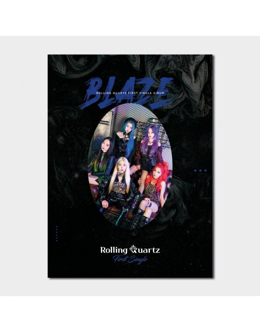Rolling Quartz - Blaze CD popup