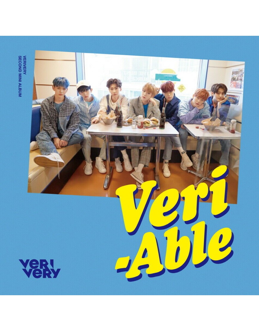 VERIVERY - VERI-ABLE  [OFFICIAL version] CD popup