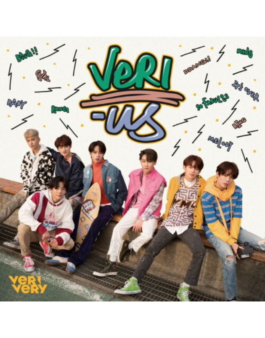 VERIVERY - VERI-US [OFFICIAL version] CD popup