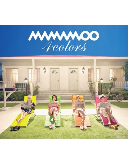 MAMAMOO- 4colors [Limited Edition / Type B]