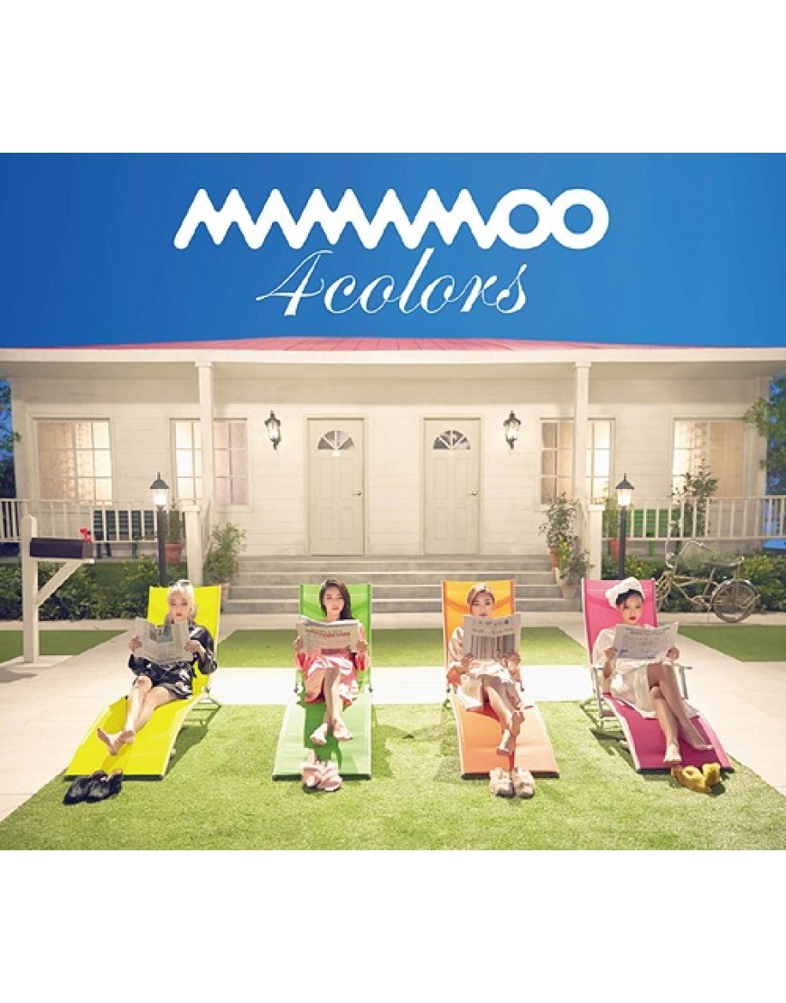 MAMAMOO- 4colors [Limited Edition / Type B]  popup