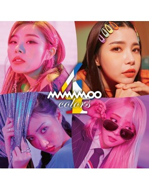 MAMAMOO- 4colors [Regular Edition ]