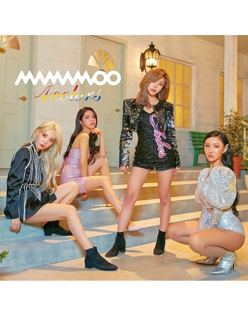 MAMAMOO- 4colors [Limited Edition / Type A]  popup