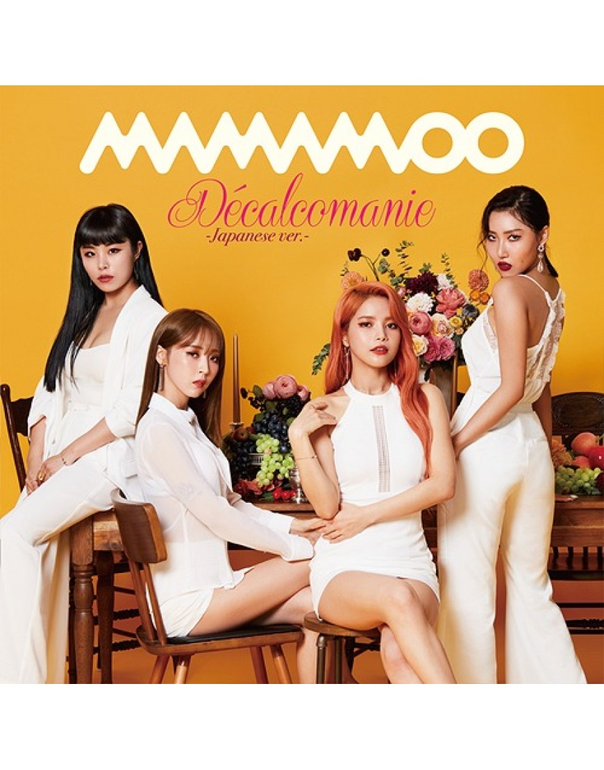 MAMAMOO- Decalcomanie [Limited Edition / Type B]  popup