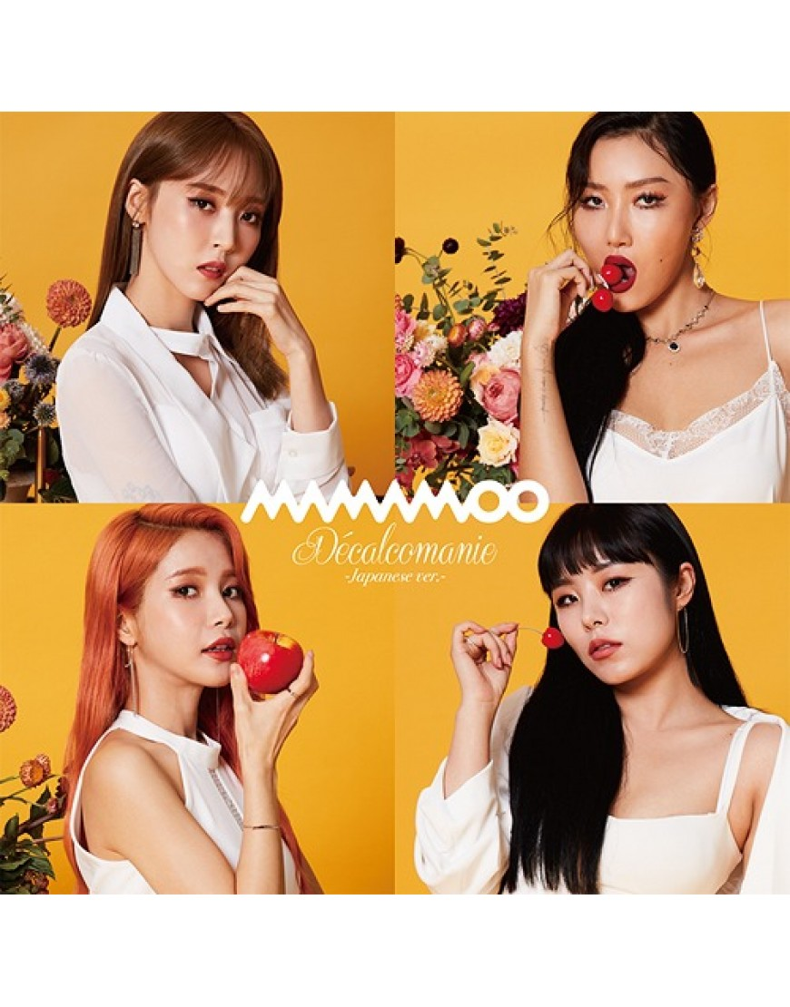 MAMAMOO- Decalcomanie [Limited Edition / Type C]  popup