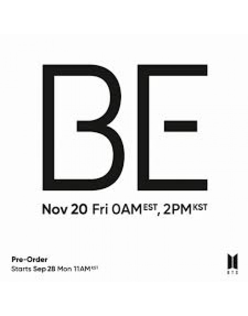 BTS - BE (Deluxe Edition) popup