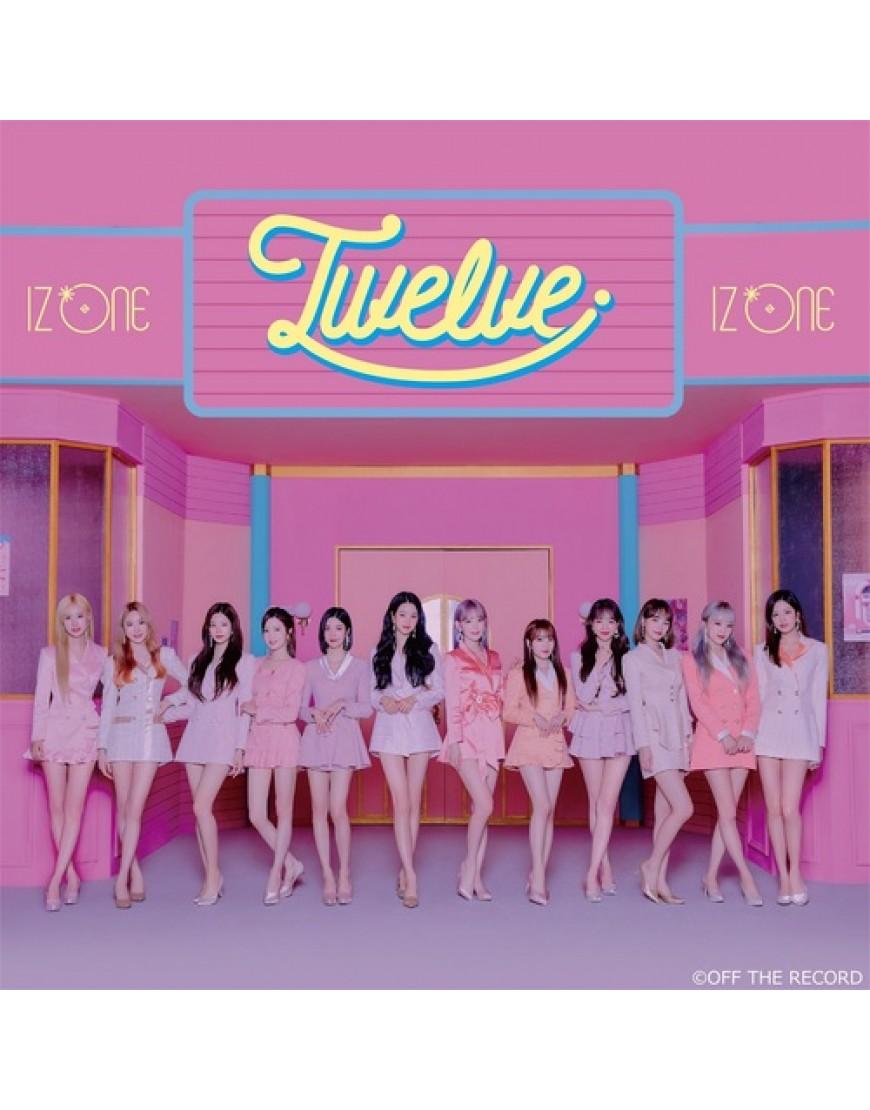 IZ*ONE- Twelve  [Type A]  popup