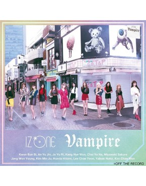 IZ*ONE- Vampire [Type B]