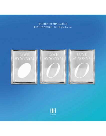 WONHO -  LOVE SYNONYM #1. Right for me CD