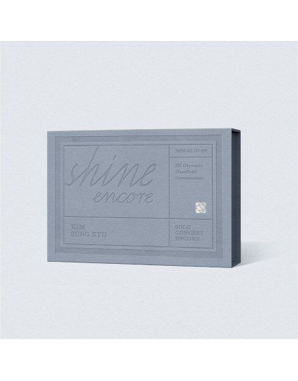 KIM SUNG KYU Infinite - SOLO CONCERT [SHINE ENCORE] KIHNO ALBUM