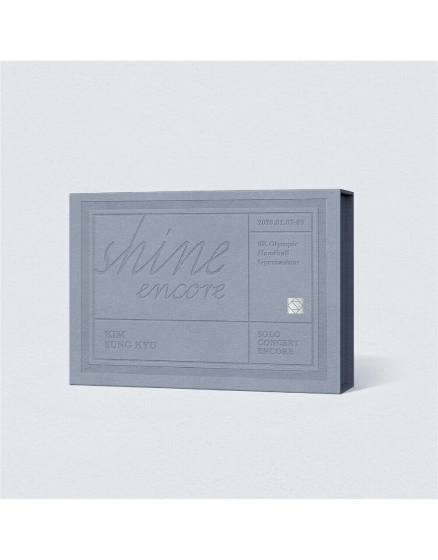 KIM SUNG KYU Infinite - SOLO CONCERT [SHINE ENCORE] KIHNO ALBUM popup