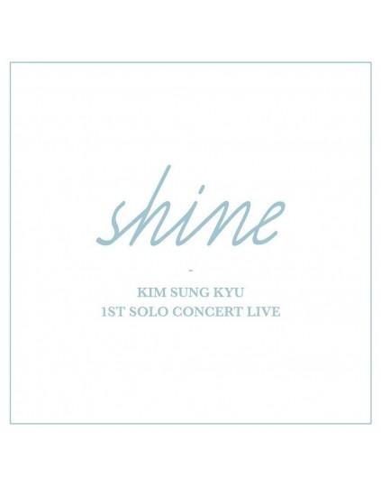 Kim Sung Kyu (Infinite) - 1ST SOLO CONCERT LIVE Album [Shine]