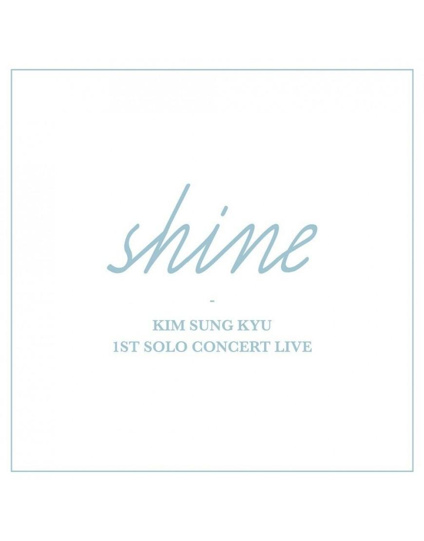 Kim Sung Kyu (Infinite) - 1ST SOLO CONCERT LIVE Album [Shine] popup