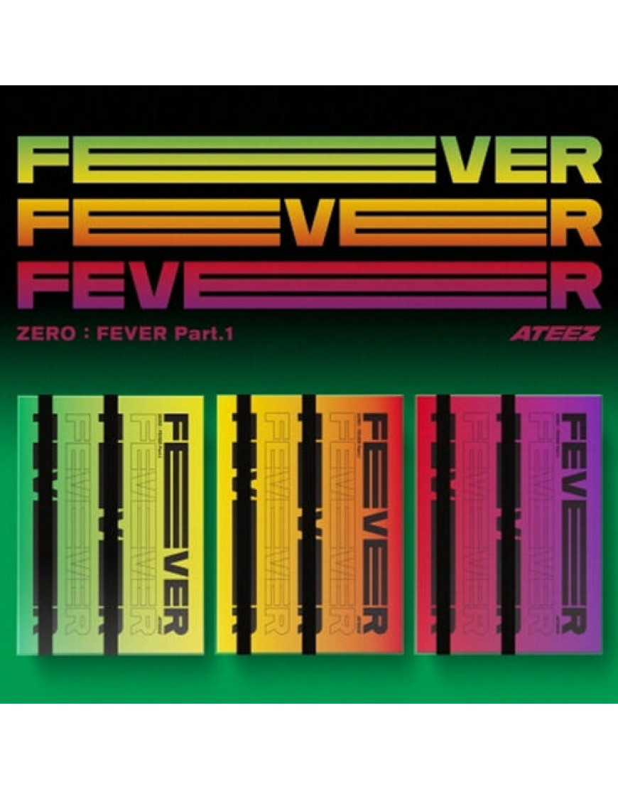 ATEEZ - ZERO : FEVER Part.1 CD popup