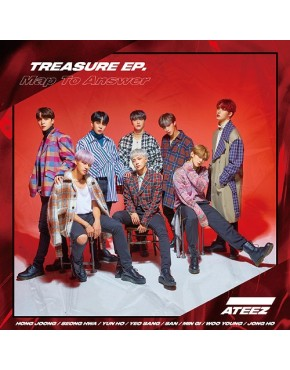 ATEEZ- TREASURE EP. Map To Answer [Type Z]