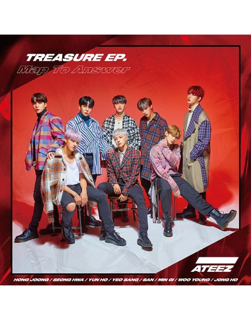 ATEEZ- TREASURE EP. Map To Answer [Type Z] popup