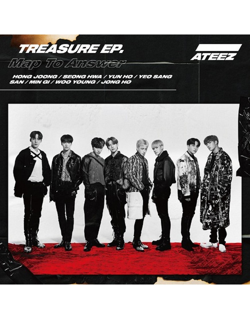 ATEEZ- TREASURE EP. Map To Answer [Type A] popup