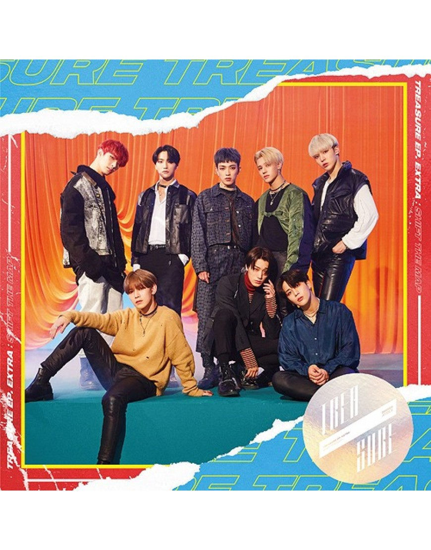 ATEEZ- TREASURE EP. EXTRA: Shift The Map [Type Z] popup