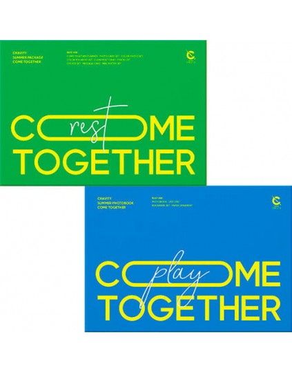 CRAVITY - SUMMER PACKAGE 'COME TOGETHER' PHOTOBOOK