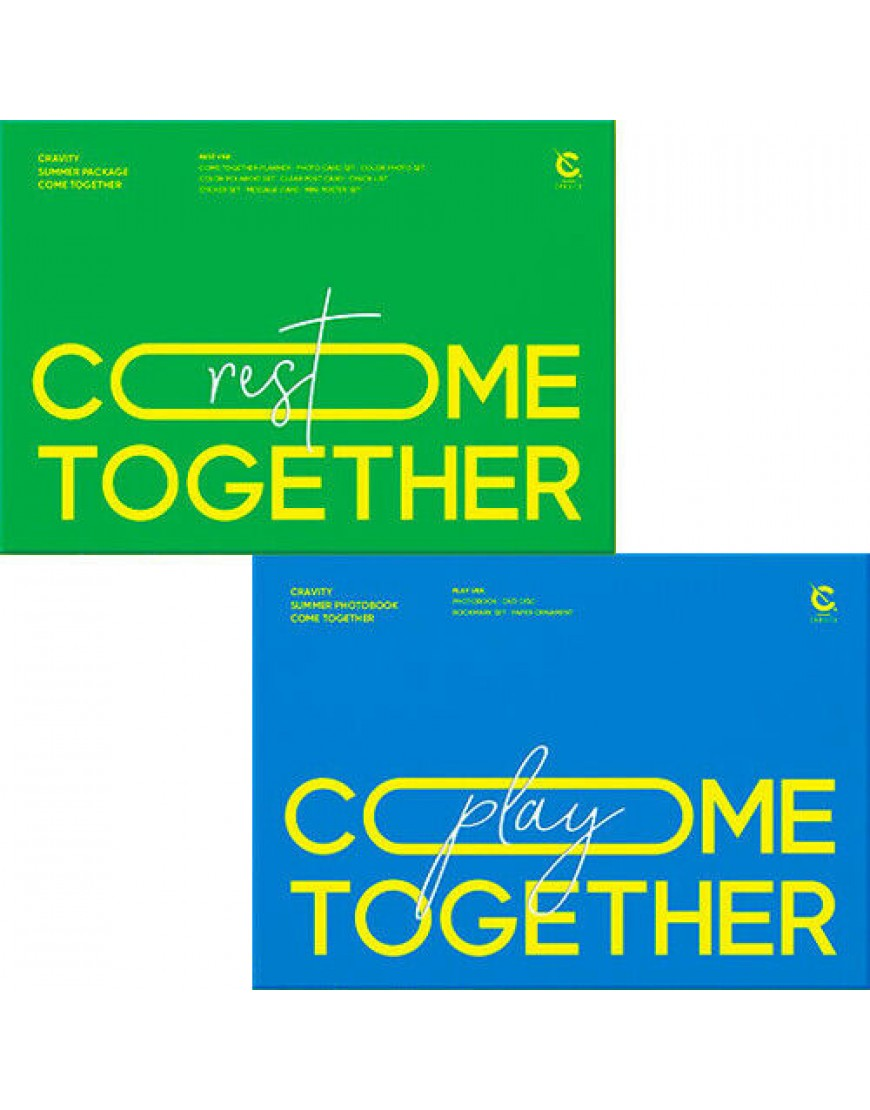 CRAVITY - SUMMER PACKAGE 'COME TOGETHER' PHOTOBOOK popup
