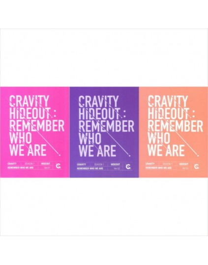 CRAVITY - HIDEOUT: REMEMBER WHO WE ARE CD