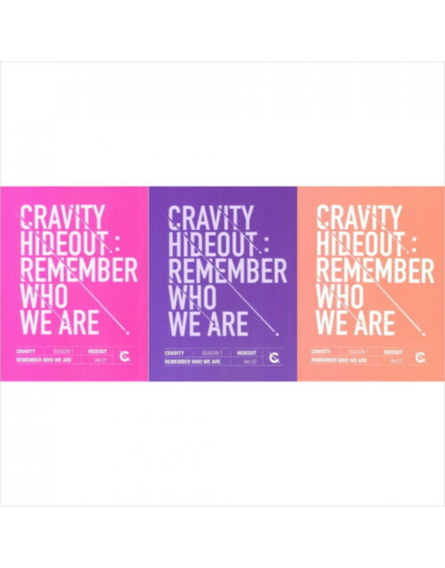 CRAVITY - HIDEOUT: REMEMBER WHO WE ARE CD popup