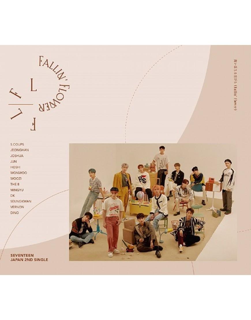 Seventeen - Maiochiru Hanabira (Fallin' Flower) Limited Edition Type A popup