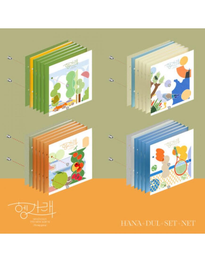 SEVENTEEN - Heng:garae CD SET ( 4cds) popup