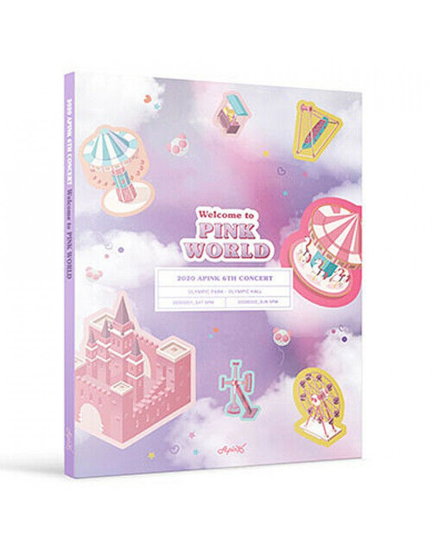 APINK - Welcome to PINK WORLD DVD popup