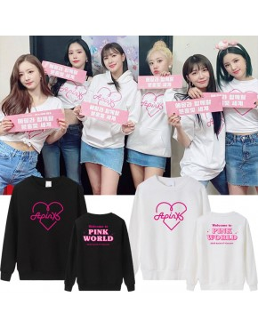 Blusa APINK Welcome To Pink World