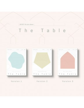 NU'EST -  The Table CD