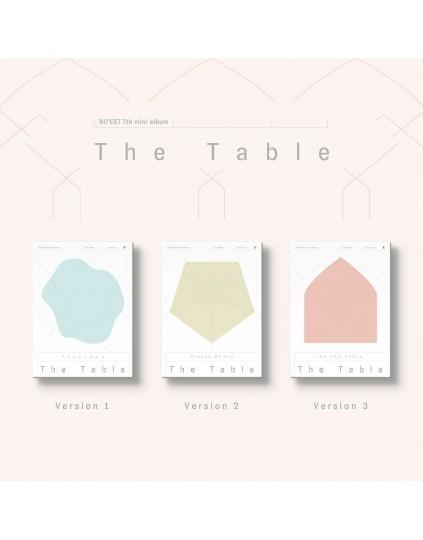 NU'EST -  The Table CD