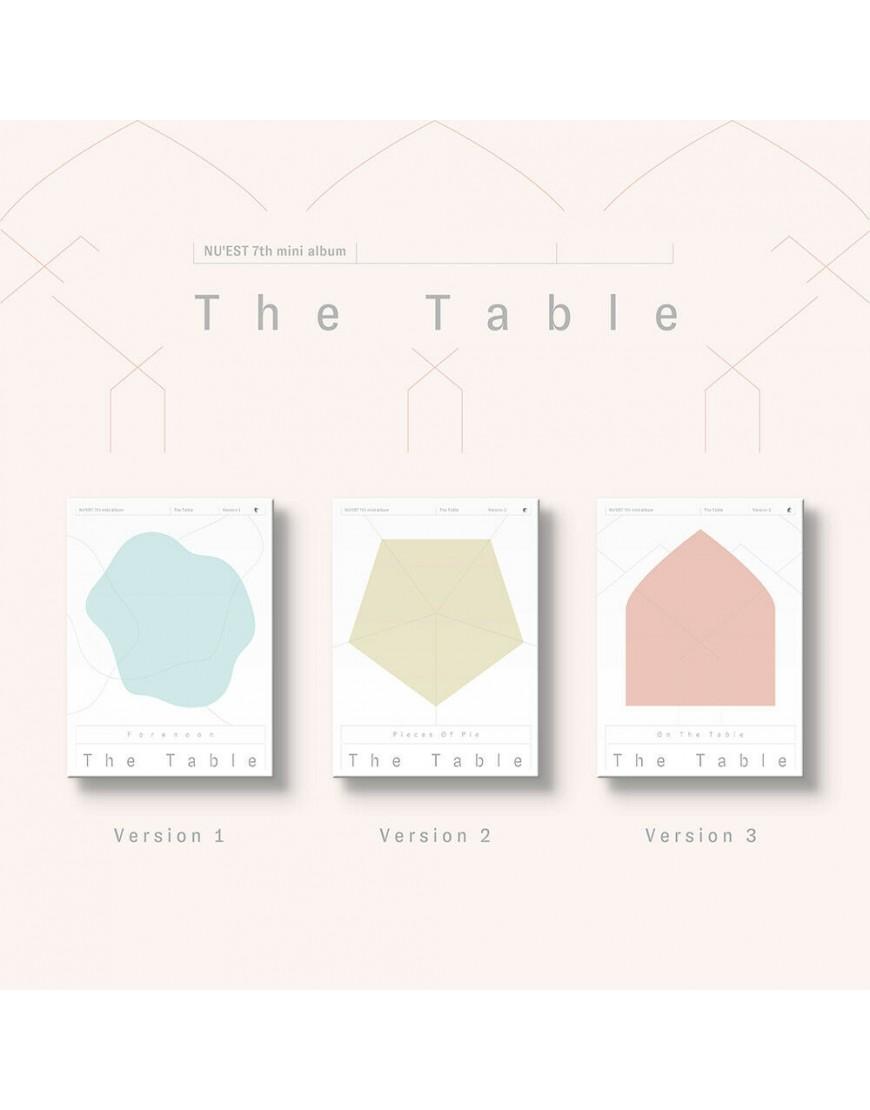 NU'EST -  The Table CD popup